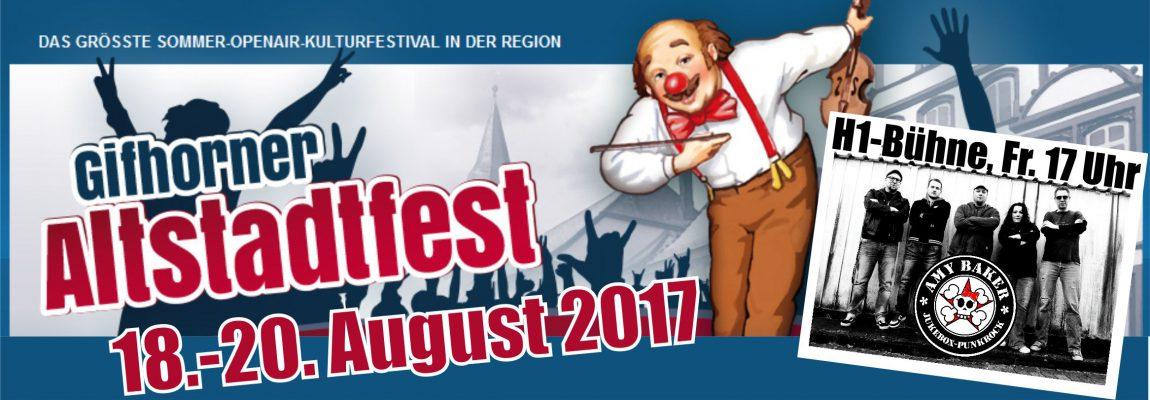 AMY auch beim Gifhorner Altstadtfest 2017 !!!
